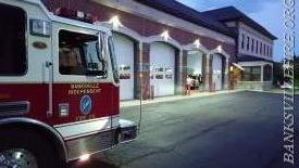 Engine 158 at Armonk FD