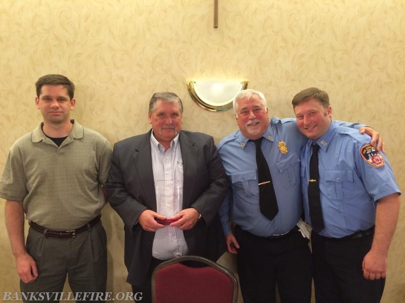 GFD LT Bill Richardson III, Ex-Chief Bill Richardson Jr, Ex-Chief Martin Richardson Sr, FDNY Firefighter Martin Richardson Jr.