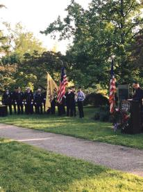 North Castle 9/11 Ceremony. Photo courtesy of Armonk Fire Department.