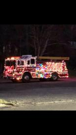 Engine 159 at North Castle Frosty Parade
