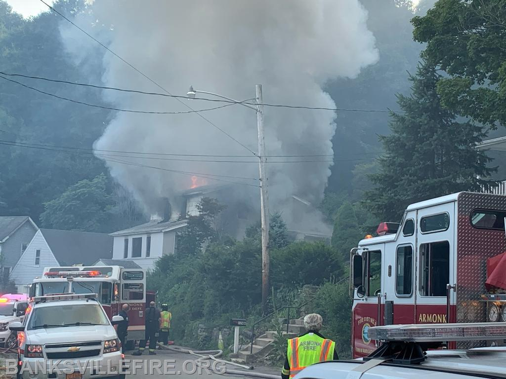 Mutual Aid to Armonk. Old Mount Kisco Road  July 2020