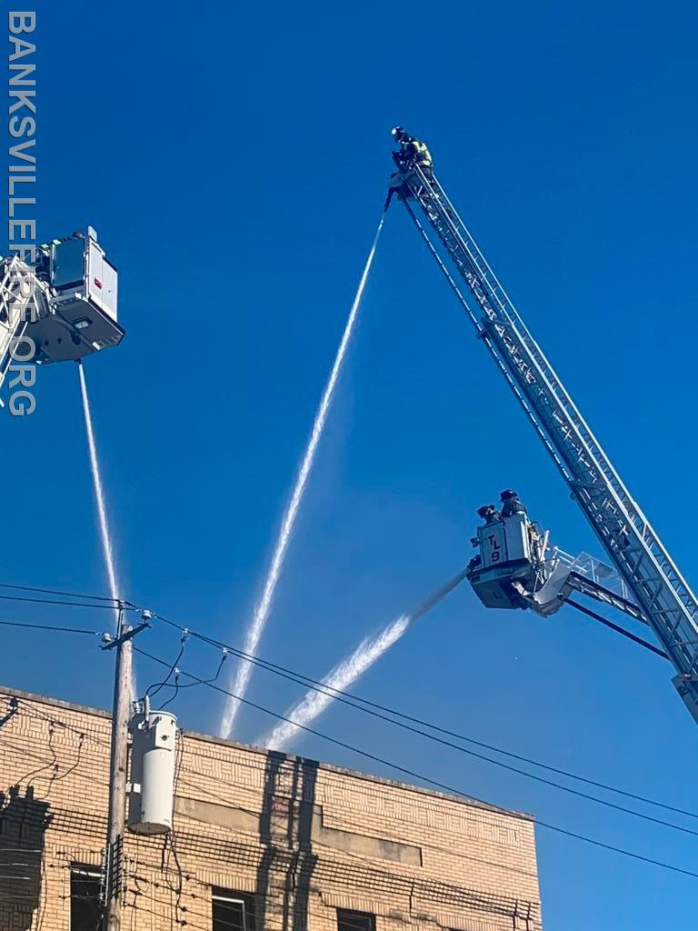 Port Chester 5th alarm fire  August 2020