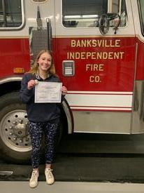 Congratulations Firefighter Alyson Kaplan on completing Firefighter 1!!!!