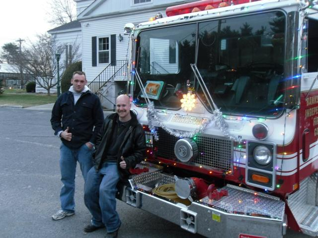 North Castle S Frosty The Snowman Parade Banksville Fire Department